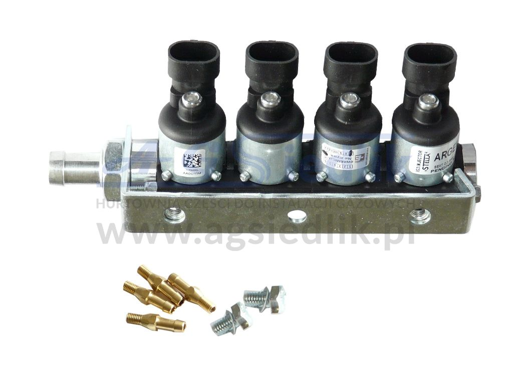 bef398581053 Team of four sectional gas injector injector IGA ELPIGAZ ARGENTO ...