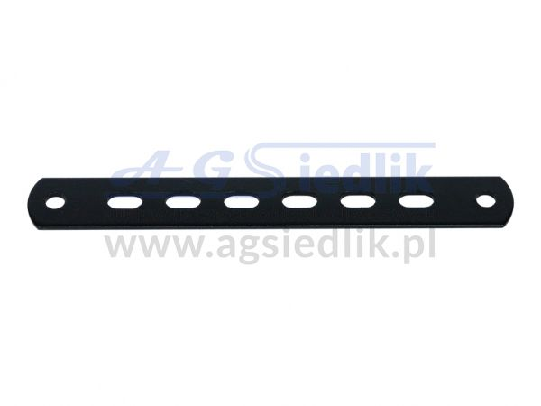 Sheet plate fastening strip 520 black