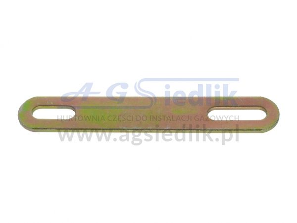 Badge holder plate 180x30x3 mm reducer GZ 247