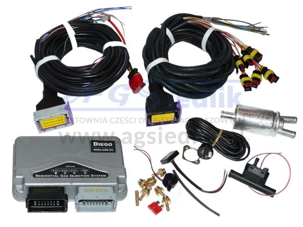 Electronics set KME Diego 4 cyl