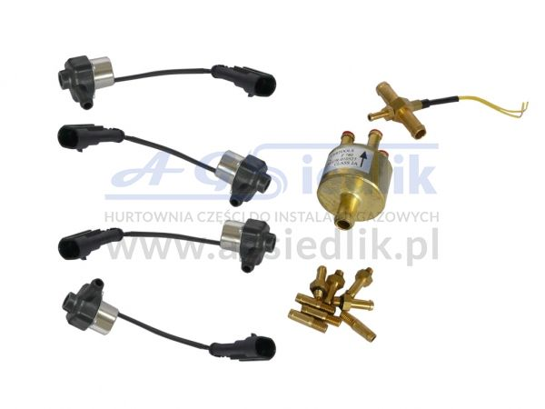 AGIS set of 4 injectors single filter CERTOOLS 16/4x8 test...