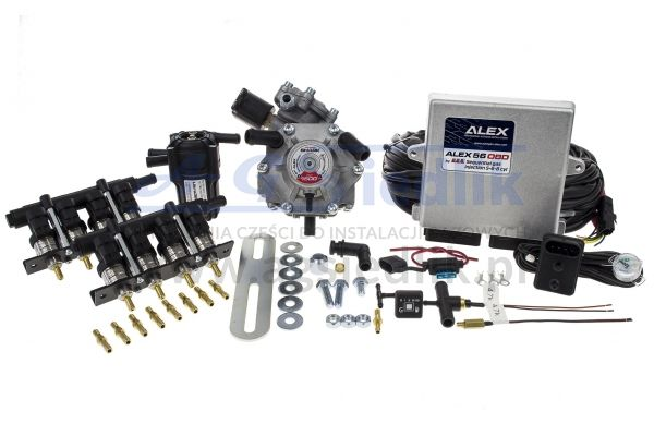 AEB ALEX 56 OBD  8 cyl. KIT (SHARK1500 / BARRACUDA...