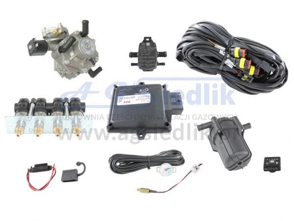 Zestaw AEB ALEX 48 OBD 4 cyl / SHARK 1200 / BARRACUDA 124P...