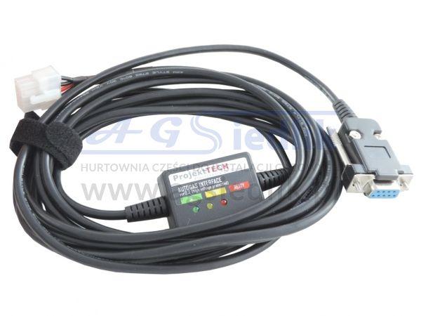 Interfejs LPG CNG typ AEB / RS232 kabel nr 1