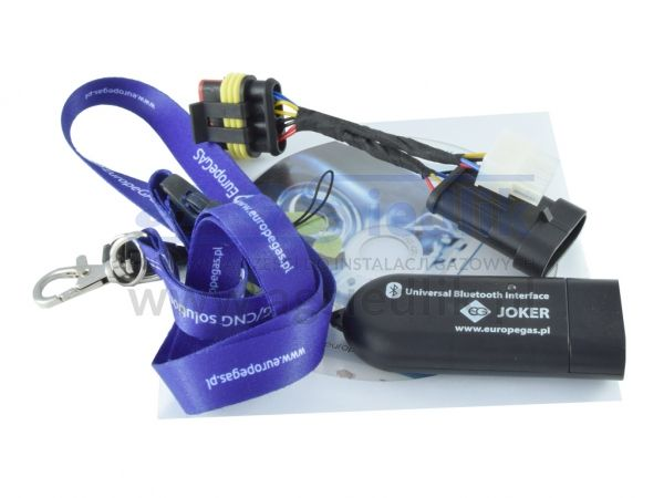 Bluetooth EG Joker Europegas interfejs