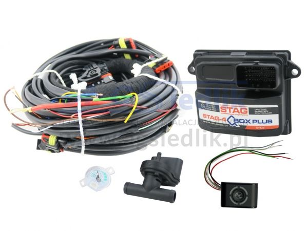Electronics STAG-4 QBOX PLUS 4 cyl. LPG CNG