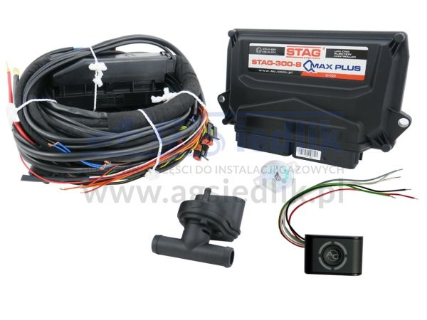 LPG AC STAG 300-8 QMAX PLUS electronics kit