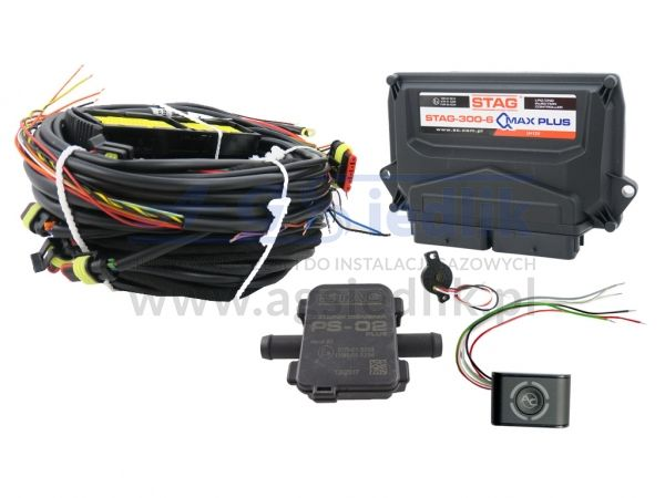 LPG AC STAG 300-6 QMAX PLUS electronics kit