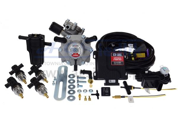 Zestaw OPTIMA NANO / Shark 1500 / U-360 / Barracuda...